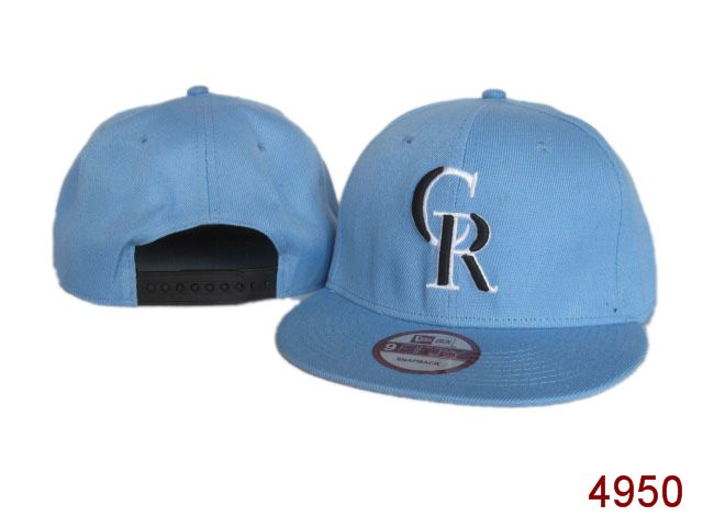 Colorado Rockies Snapback Hat SG 3819